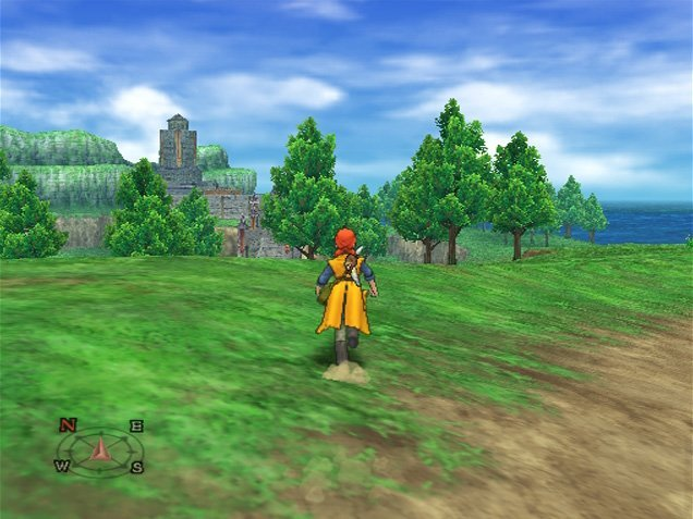 Dragon Quest VIII: Journey Of The Cursed King (PS2)  © Square Enix 2004   4/12