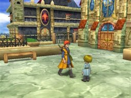 Dragon Quest VIII: Journey Of The Cursed King (PS2)  © Square Enix 2004   3/12