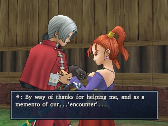 Dragon Quest VIII: Journey Of The Cursed King (PS2)  © Square Enix 2004   8/12