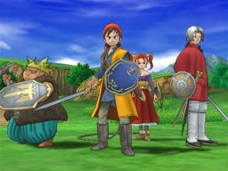 Dragon Quest VIII: Journey Of The Cursed King (PS2)  © Square Enix 2004   1/12