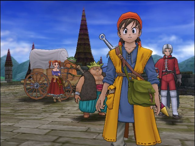 Dragon Quest VIII: Journey Of The Cursed King (PS2)  © Square Enix 2004   10/12