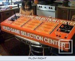 Atari Video Game Selection Center  © Atari   (2600)   2/4