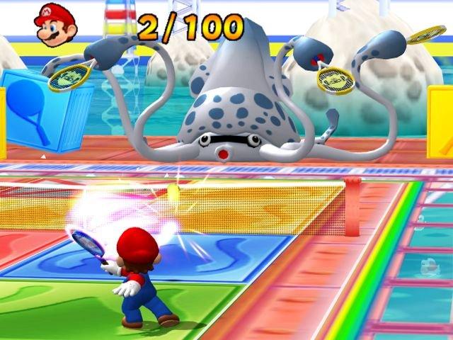 Mario Power Tennis (GCN)  © Nintendo 2004   4/5