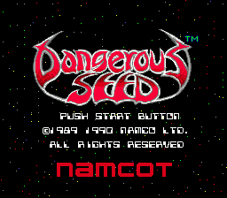 Dangerous Seed (SMD)  © Namco 1990   1/4