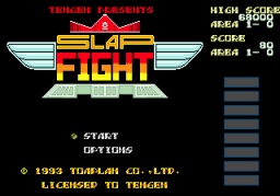 Slap Fight (SMD)   © Tengen 1993    1/3