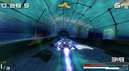 Wipeout Pure (PSP)   © Sony 2005    2/3