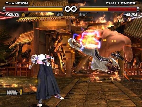 Tekken 5 (PS2)  © Namco 2005   5/6