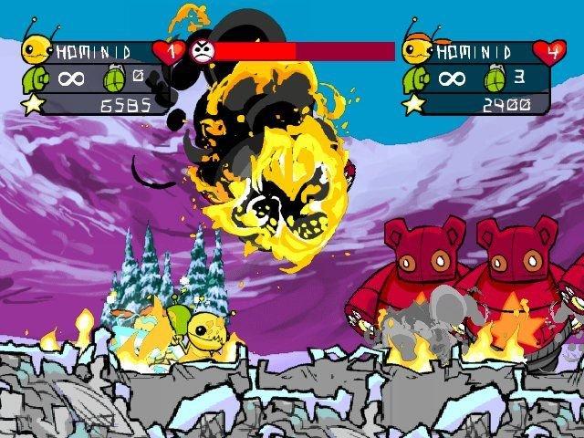 Alien Hominid (PS2)  © Zoo Games 2004   5/6