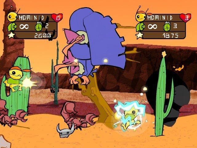 Alien Hominid (PS2)  © Zoo Games 2004   6/6