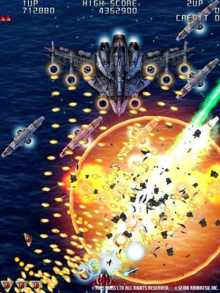 Raiden III (ARC)  © Seibu Kaihatsu 2005   7/9
