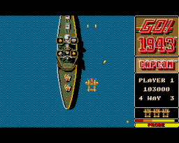 1943: The Battle Of Midway (AMI)   © GO! 1989    3/3