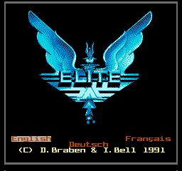 Elite (NES)  © Imagineer 1991   1/3