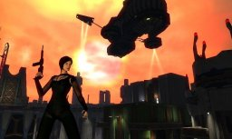 Aeon Flux (PS2)   © Majesco 2005    1/2