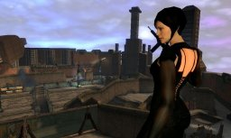 Aeon Flux (PS2)   © Majesco 2005    2/2
