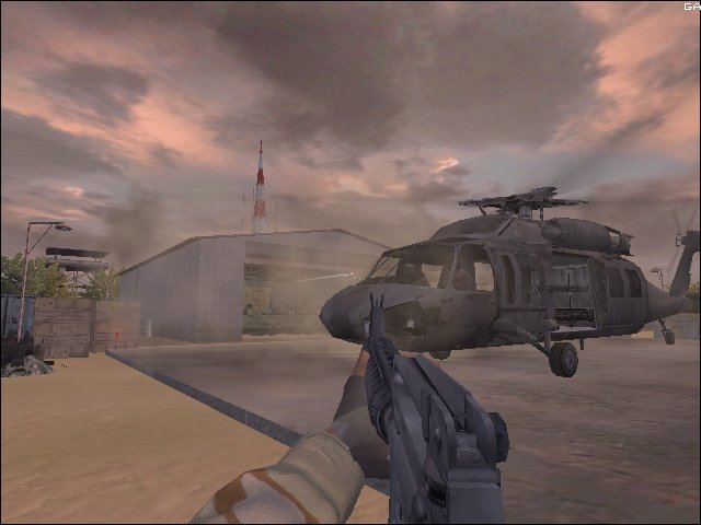 Delta Force: Black Hawk Down (XBX)   © NovaLogic 2005    5/6