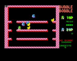 Bubble Bobble (AMI)  © Firebird 1987   2/3