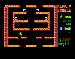 Bubble Bobble (AMI)  © Firebird 1987   3/3