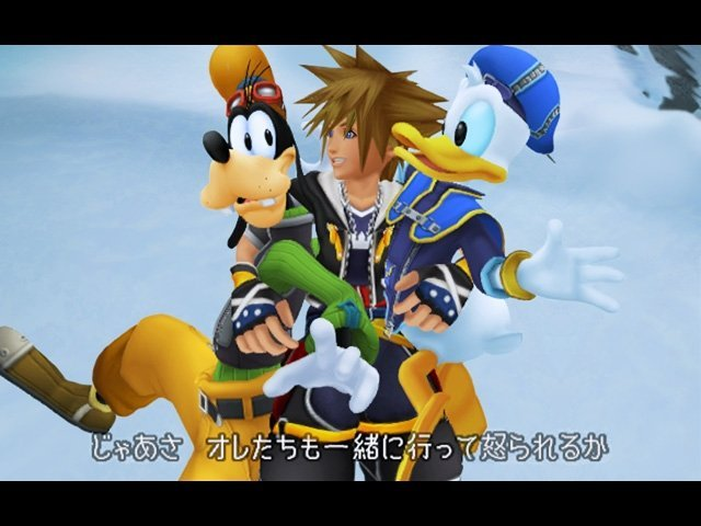 Kingdom Hearts II (PS2)   © Square Enix 2005    6/14