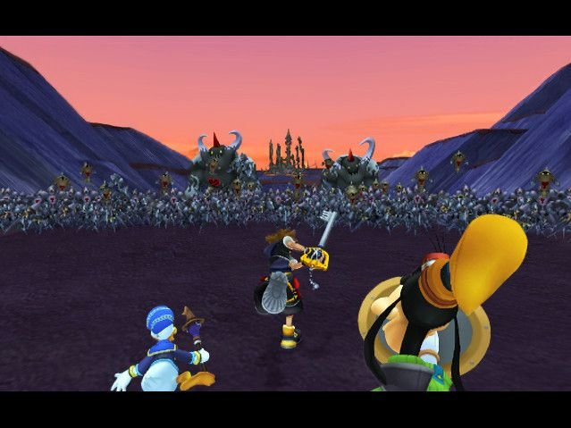 Kingdom Hearts II (PS2)   © Square Enix 2005    4/14