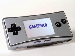 Game Boy Micro (GBA)   © Nintendo 2005    1/1
