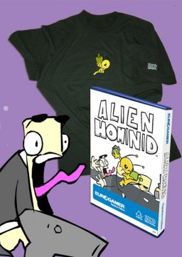 Alien Hominid - Eurogamer Signature Edition  ©    (XBX)   1/1
