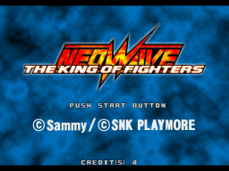 The King Of Fighters: Neowave (ARC)   © SNK 2004    1/4