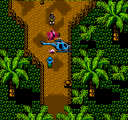 Guerrilla War (NES)  © SNK 1988   2/3