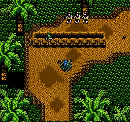 Guerrilla War (NES)  © SNK 1988   3/3
