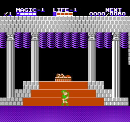 Zelda II: The Adventure Of Link (FDS)   © Nintendo 1987    2/3