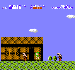 Zelda II: The Adventure Of Link (FDS)   © Nintendo 1987    3/3