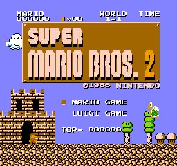 Super Mario Bros. 2 (1986) (FDS)  © Nintendo 1986   1/3
