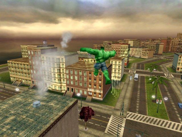 The Incredible Hulk: Ultimate Destruction (XBX)  © VU Games 2005   4/4