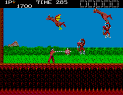 Rygar: The Legendary Warrior (SMS)  © Salio 1988   2/6