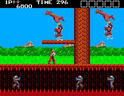 Rygar: The Legendary Warrior (SMS)  © Salio 1988   4/6