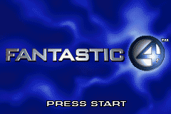 Fantastic 4 (GBA)  © Activision 2005   1/3