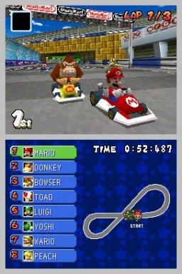 Mario Kart DS (NDS)  © Nintendo 2005   1/4