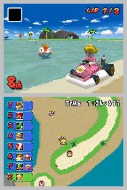 Mario Kart DS (NDS)  © Nintendo 2005   3/4