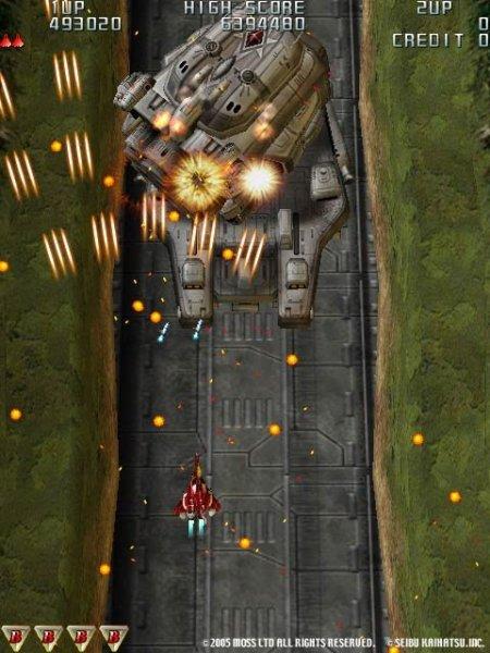 Raiden III (PS2)  © Taito 2005   5/12