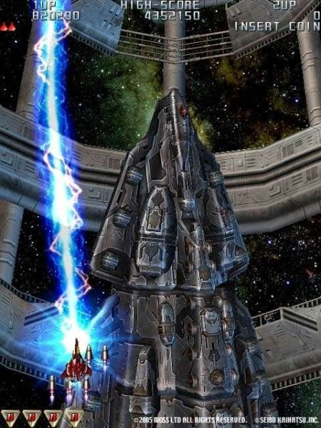 Raiden III (PS2)  © Taito 2005   10/12