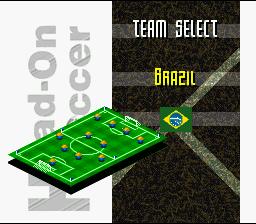 Fever Pitch Soccer (SNES)  © U.S. Gold 1995   2/4
