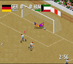Fever Pitch Soccer (SNES)  © U.S. Gold 1995   3/4