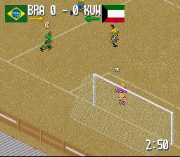 Fever Pitch Soccer (SNES)  © U.S. Gold 1995   4/4