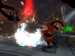 The Incredibles: Rise Of The Underminer (XBX)   © THQ 2005    2/3