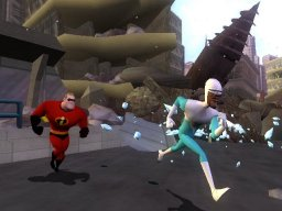 The Incredibles: Rise Of The Underminer (XBX)   © THQ 2005    3/3