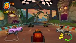 Crash Tag Team Racing (PSP)  © VU Games 2005   3/5