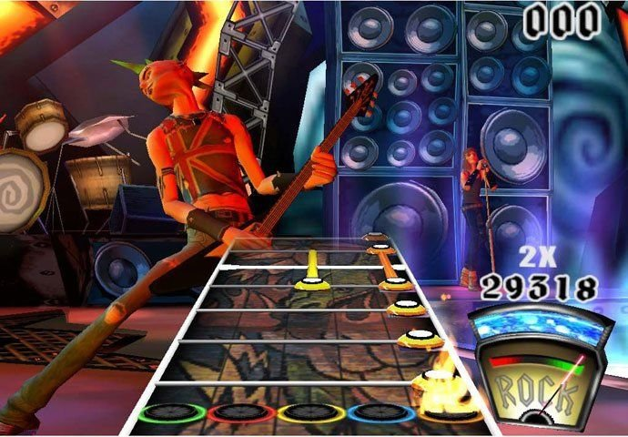 Guitar Hero (PS2)   © RedOctane 2005    4/6