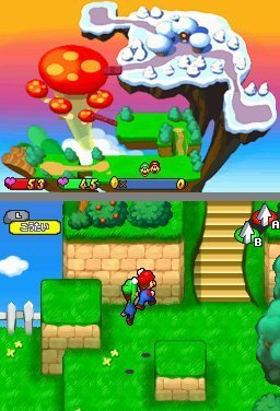 Mario & Luigi: Partners In Time (NDS)   © Nintendo 2005    2/3