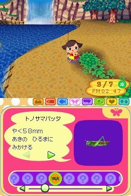 Animal Crossing: Wild World (NDS)   © Nintendo 2005    2/3