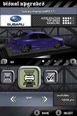Need For Speed: Most Wanted (NDS)   © EA 2005    1/1