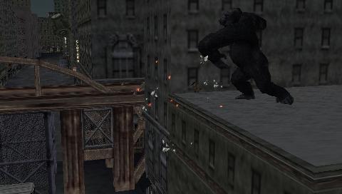 King Kong (2005) (PSP)  © Ubisoft 2005   5/7